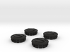 4 X Toyota Prius G3 Wheel Center Cap - Ecology 3d printed