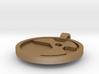 Nuke Logo Pendant 3d printed