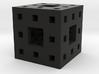 Itty Bitty Menger Sponge Pendant/Charm/Sculpture 3d printed