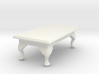 1:24 Queen Anne Coffee Table, Rectangular 3d printed