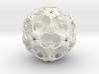 IcosaBall Smooth 17 3d printed