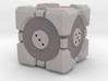 D6 Companion Cube Colored 3d printed