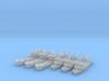 1/1250 Trawlers (UK) 3d printed