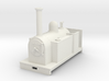Gn15 side tank loco open cab 3d printed