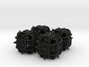 Fudge Thorn Die6 4d6 Set 3d printed