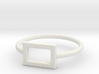 Midi Ring, chic and subtle, 14mm inner diameter 3d printed
