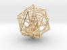 Merkabah Starship Meditation 40mm Dodecahedral 3d printed