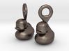 Single Ducks - Earrings 3d printed