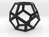 pentagondodekaeder kante 3d printed