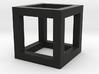 hexaeder kante 3d printed
