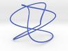 Lissajous (3, 5, 2) (π, 1.1 * π, 1.2 * π) 3d printed