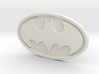 Batman emblem 3d printed