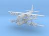 1/600 AC-130U Spooky II Gunship (x2) 3d printed
