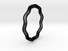 Sine Ring Round 18mm 3d printed