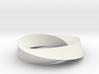 Mobius Loop - Triangle 2/3 twist 3d printed