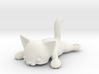 Flat Cat 3d printed