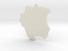 3D SU keychain  3d printed