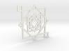 Illusionary Square Pendant 3d printed