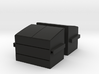 Dumpsters (x2) HO Scale 3d printed