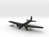 1/144 Boeing B-9 3d printed