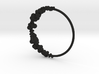 Cloud Bracelet 3d printed