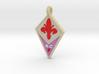 Ciondolo Fiorentina 3d printed