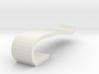 Flash drive brooch 'Curve' 3d printed