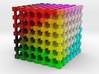 LAB Color Cube: 2 inch 3d printed