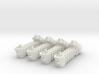 BFG Troop Ships (x4) 3d printed