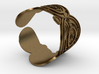 The Doctor's name (Embossed): Cuff 3d printed