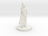 Girl in dress 3d printed
