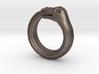 Ouroboros Ring 3d printed