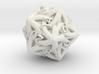 Celtic D20 - Solid Centre for Plastic 3d printed