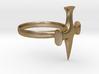Sword of the Templars Ring 3d printed