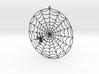 Spiderweb Window Hang 3d printed
