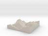 Model of Whistler 3d printed