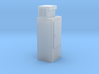 HO-Scale Upright Single Door Ice Cooler 3d printed