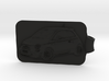 Fiat 500 Abarth Key Fob 3d printed