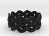 Turk's Head Knot Ring 4 Part X 10 Bight - Size 11 3d printed