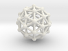 Pentakis Icosidodecahedron w/ Orb Desk Toy 3d printed
