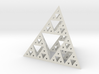 Sierpinski-tetrix 3d printed