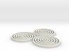 Spirals - 2 inch 3d printed