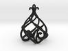 Heart Lantern Pendant 3d printed