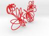 Flora Necklace 3d printed