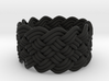 Turk's Head Knot Ring 6 Part X 13 Bight - Size 7 3d printed