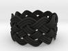 Turk's Head Knot Ring 5 Part X 10 Bight - Size 9.5 3d printed