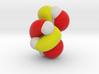 Lowest unoccupied pi-MO (LUMO) of cis-butadiene 3d printed