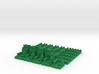 Base Catan Green Piece Set 3d printed