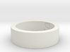 """Sea"" Stainless Steel Ring Ring Size 8 3d printed Cape Cod Sea Ring"