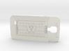 Galaxy S4 Football Huskies 3d printed